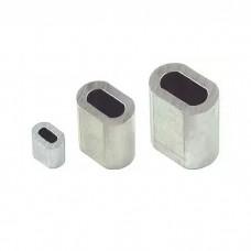 Зажим для стальных канатов DIN3093 аллюминиевые
