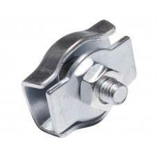 Зажим для стальных канатов SIMPLEX цинк