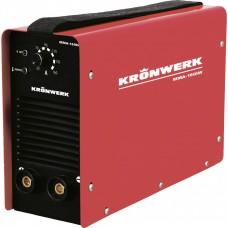 Аппарат инверторный дуговой сварки ММА-180IW, 180 А, ПВР 60%, диаметр электрода 1,6-4 мм, провод 2 м Kronwerk