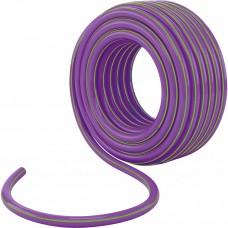 Шланг поливочный армированный трехслойный 1/2, серия Violet, 15 м Palisad