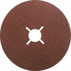 Круги фибровые 5 шт, Р 80, 180 х 22 mm Matrix