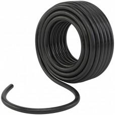 Шланг поливочный резиновый, кордовый рукав D 25 мм, 50 м Россия