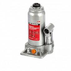 Домкрат гидравлический бутылочный, 5 т, h подъема 197-382 мм Matrix