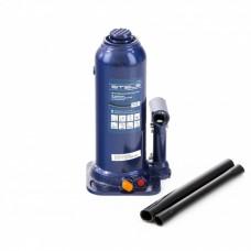 Домкрат гидравлический бутылочный, 10 т, h подъема 222-447 мм Stels