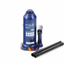 Домкрат гидравлический бутылочный, 5 т, h подъема 207-404 мм, в пластиковом кейсе Stels