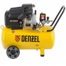 Компрессор воздушный DKV2200/50, Х-PRO  2,2 кВт, 400 л/мин, 50 л Denzel