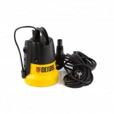 Дренажный насос DP500E, 500 Вт, подъем 7 м, 7000 л/ч Denzel