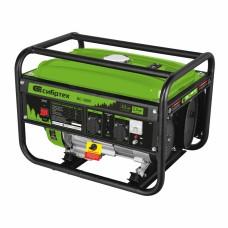 Генератор бензиновый БС-2800, 2,5 кВт, 230В, четырехтактный, 15 л, ручной стартер Сибртех